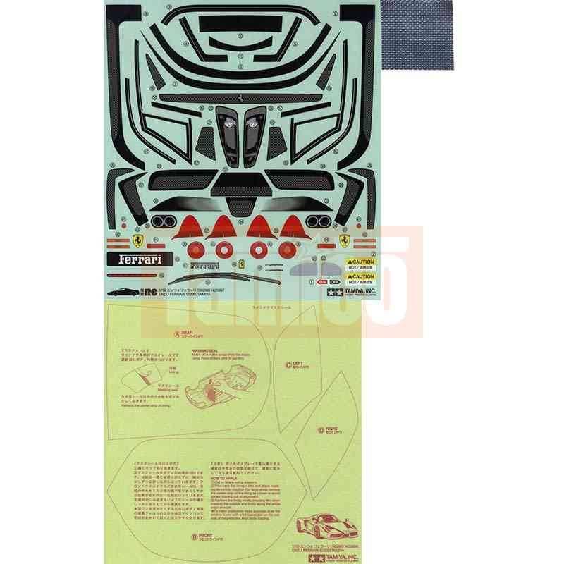 tamiya aufkleber ferrari enzo 9495399 tamiya axial. Black Bedroom Furniture Sets. Home Design Ideas